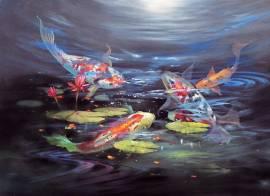 10. Koi Teich (Gary Jenkins) Englisch - Bild vergrößern
