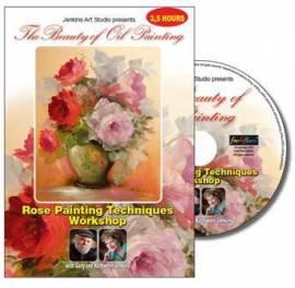 Gary Jenkins -Techniken für das Malen von Rosen- 3,5 Stunden (Deutsch) - Bild vergrößern