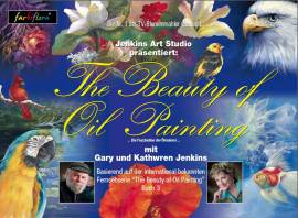 Buch 3 Gary & Kathwren Jenkins The Beauty of Oil Painting (deutsch) - Bild vergrößern