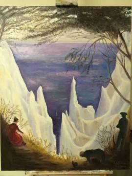 "Max Skoblinski ""Open Workshop with individual choice of Subjects – oil on canvas"" 28. - 29. 11. 2020 - Bild vergrößern"