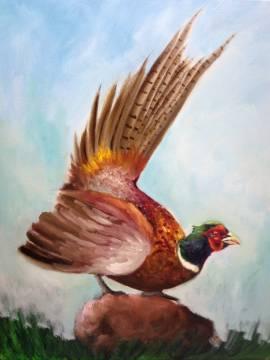 Vögel in Öl 20.-24. April 2020 - Bild vergrößern
