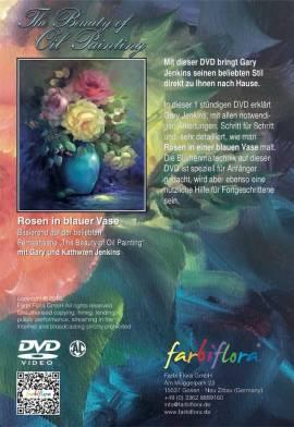 Gary Jenkins -Rosen in blauer Vase- 1 Stunde (Deutsch) - Bild vergrößern