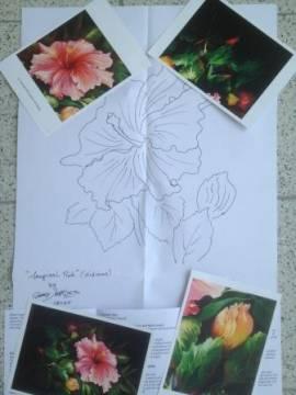 04. Tropischer Rosa Hibiskus (Gary Jenkins) Englisch - Bild vergrößern