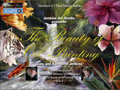 Buch 4 Gary & Kathwren Jenkins The Beauty of Oil Painting (englisch)