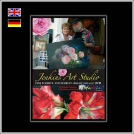 Gary Jenkins -Techniken für die Blumenmalerei- 2 Stunden (Deutsch) - Bild vergrößern
