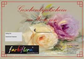 Geschenkgutschein im Wert von 25,- € - Bild vergrößern