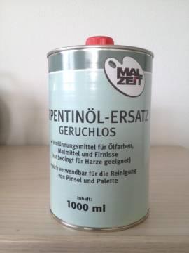 Terpentinöl Ersatz Geruchlos 1 Liter - Bild vergrößern