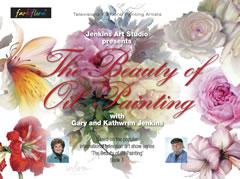 Buch 1 Gary & Kathwren Jenkins The Beauty of Oil Painting (englisch)
